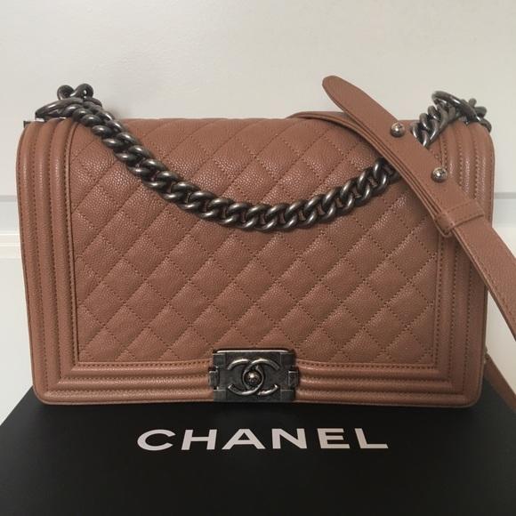 2c1acb8bd0ec CHANEL Bags   Boy Bag New Medium   Poshmark